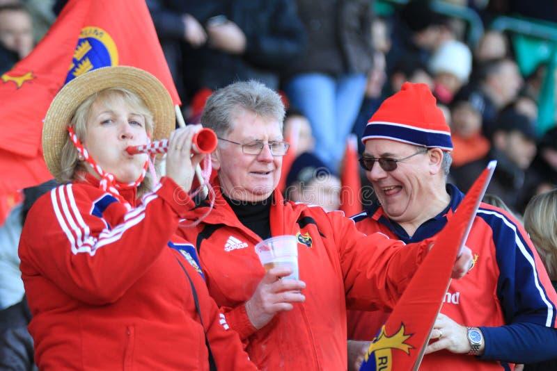 benetton filiżanki europa Munster rugby vs zdjęcia stock