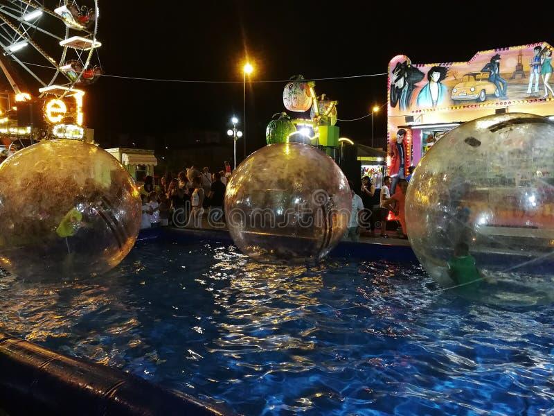 Benevento, Luna parka przedstawienie - obrazy stock