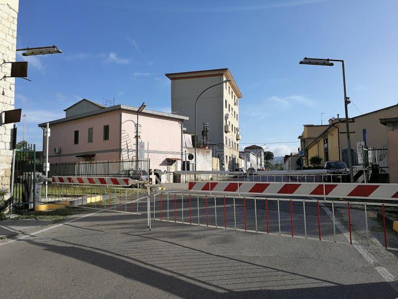 Benevento - Równy skrzyżowanie fotografia royalty free