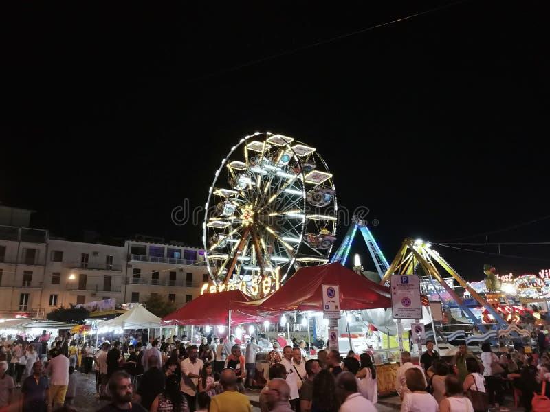 Benevento - Ritten voor Madonna delle Grazie stock foto