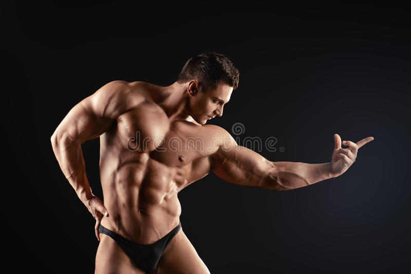 Benevolência masculina imagens de stock royalty free