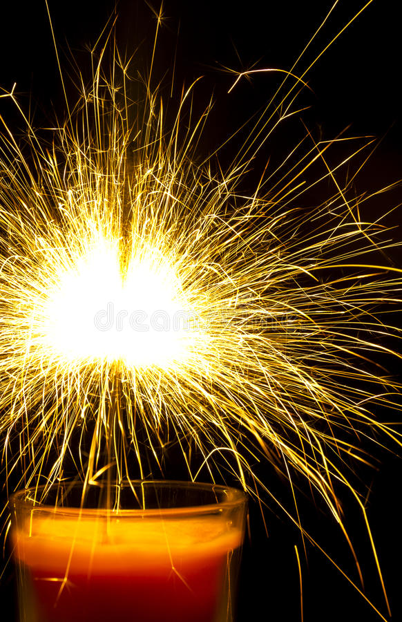 Bengal lights royalty free stock image