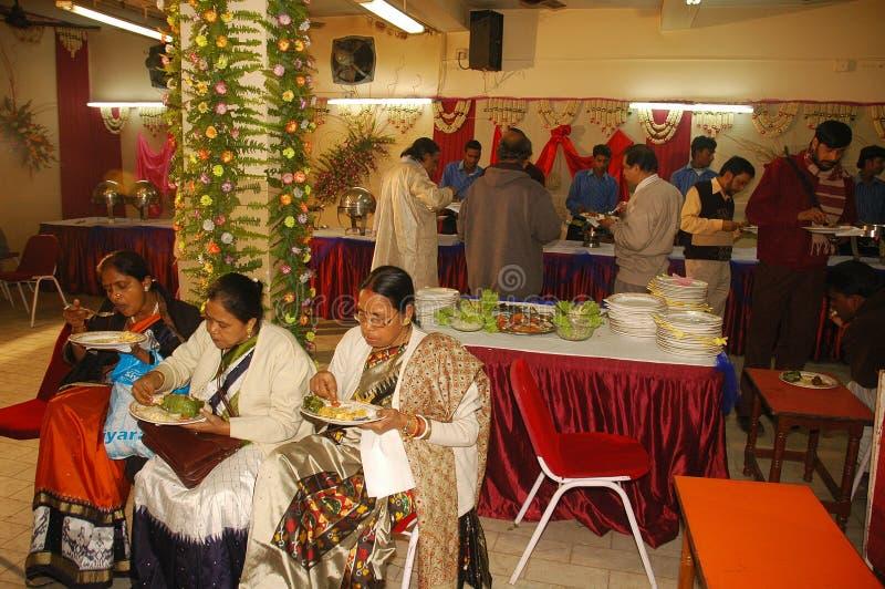 Bengalese che wedding i rituali in India fotografia stock