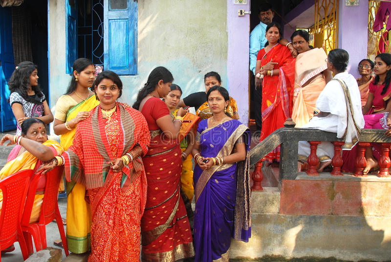 Bengali Marriage Rituals Editorial Stock Image