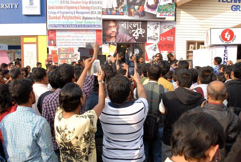 Bengali vaggar musik royaltyfri foto