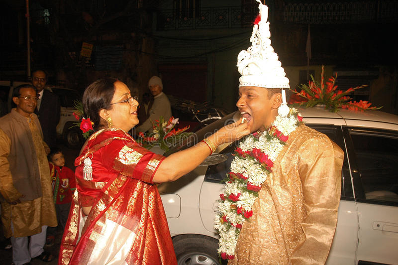 Download Bengali Wedding Rituals In India Editorial Stock Image - Image: 17627409