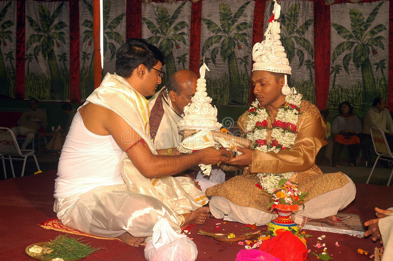 bengalski ind rytuałów target1409_1_ fotografia royalty free