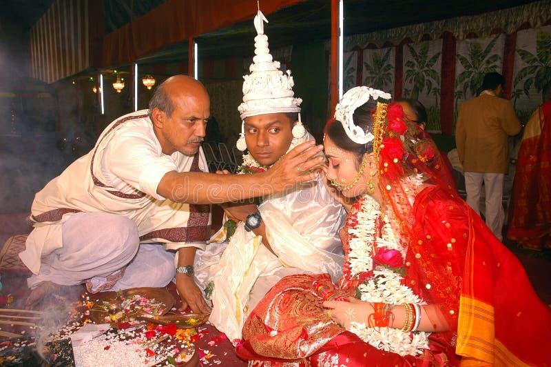 bengalski ind rytuałów target1666_1_ zdjęcia stock