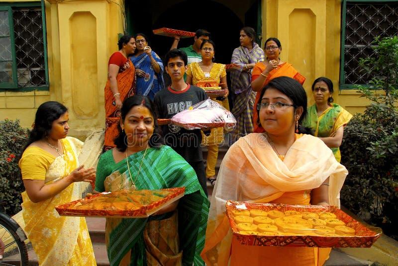 bengalski ind rytuałów target210_1_ obraz royalty free
