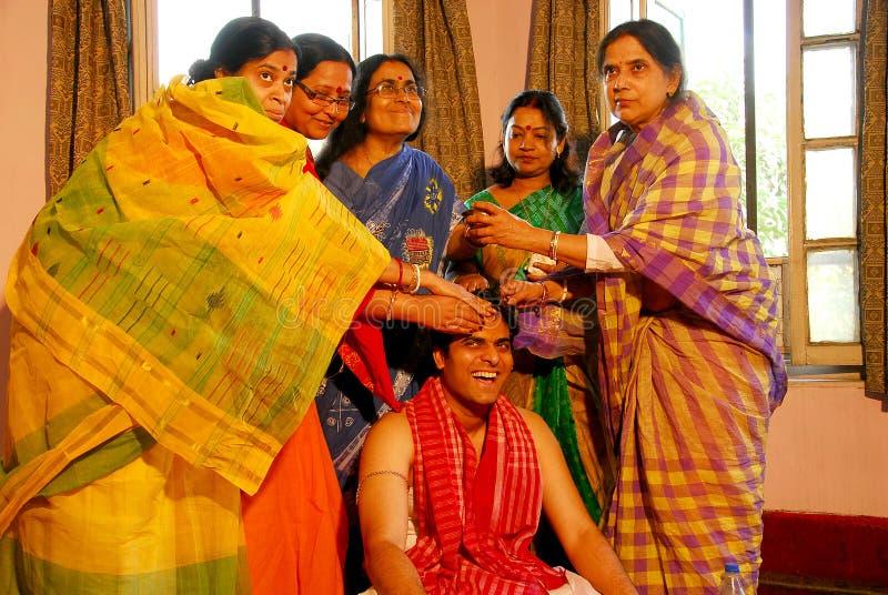 bengalski ind rytuałów target2534_1_ zdjęcie stock