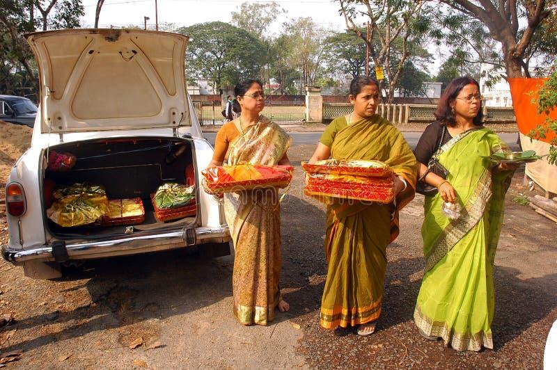 bengalski ind rytuałów target691_1_ zdjęcie stock