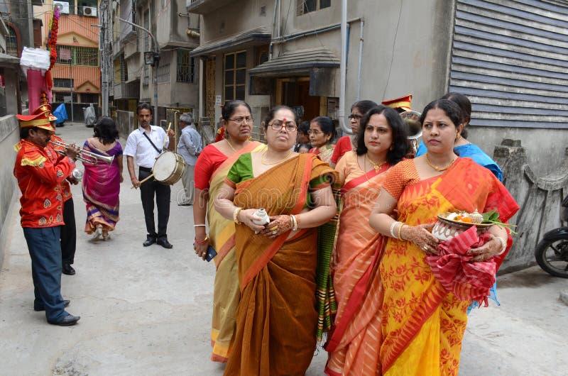 Bengalskie kobiety fotografia royalty free