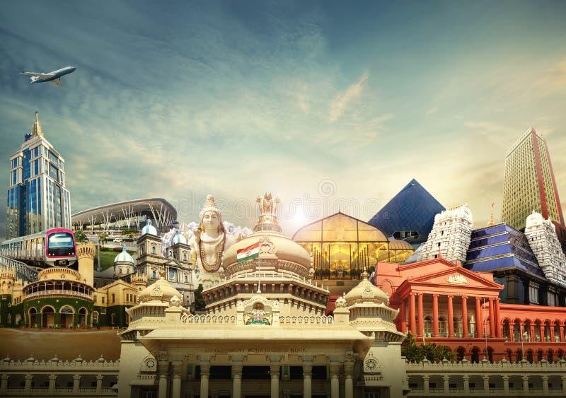 Bengaluru Bangalore il Karnataka, India fotografie stock libere da diritti