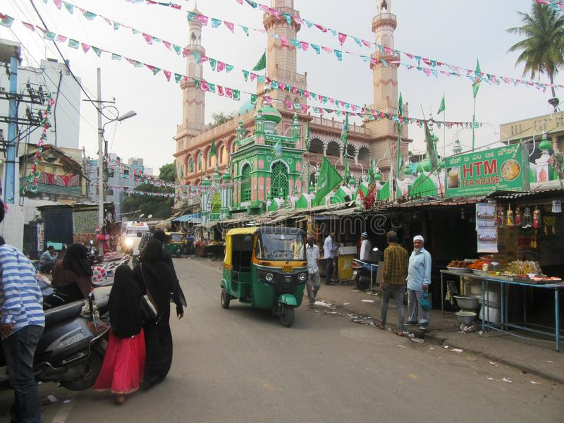 Bengaluru in Karnataka. In the southwest of India stock photography