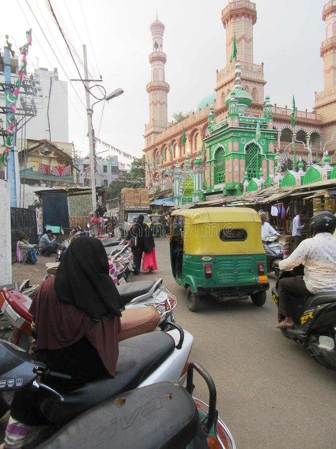 Bengaluru in Karnataka. In the southwest of India royalty free stock photography