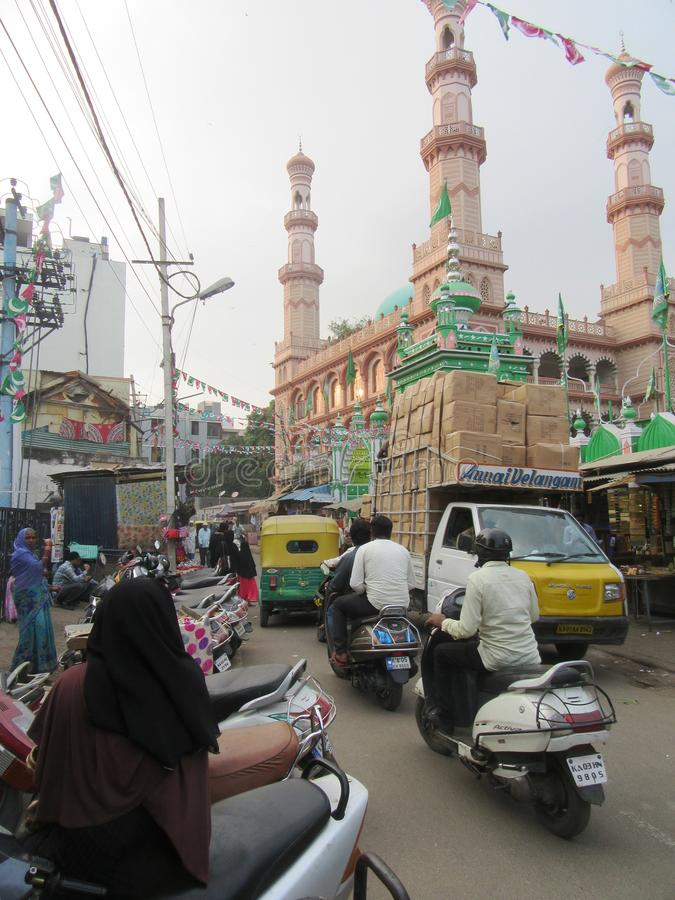 Bengaluru in Karnataka. In the southwest of India royalty free stock images