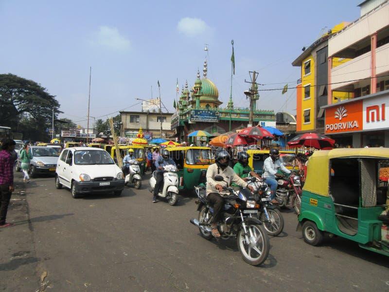 Bengaluru in Karnataka. In the southwest of India stock photos