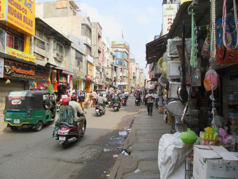 Bengaluru in Karnataka. In the southwest of India stock image