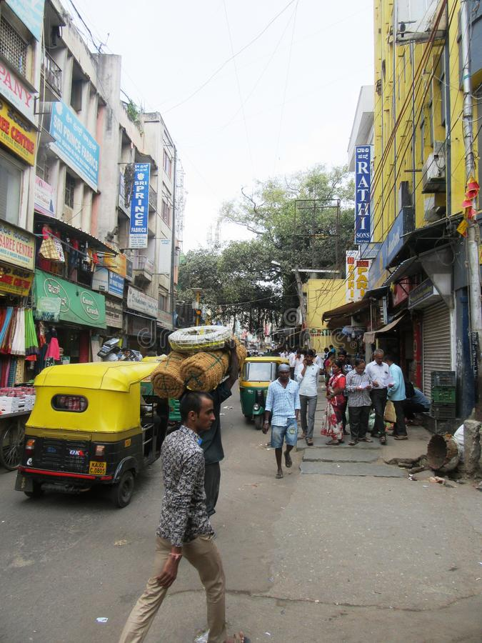 Bengaluru in Karnataka. In the southwest of India royalty free stock image