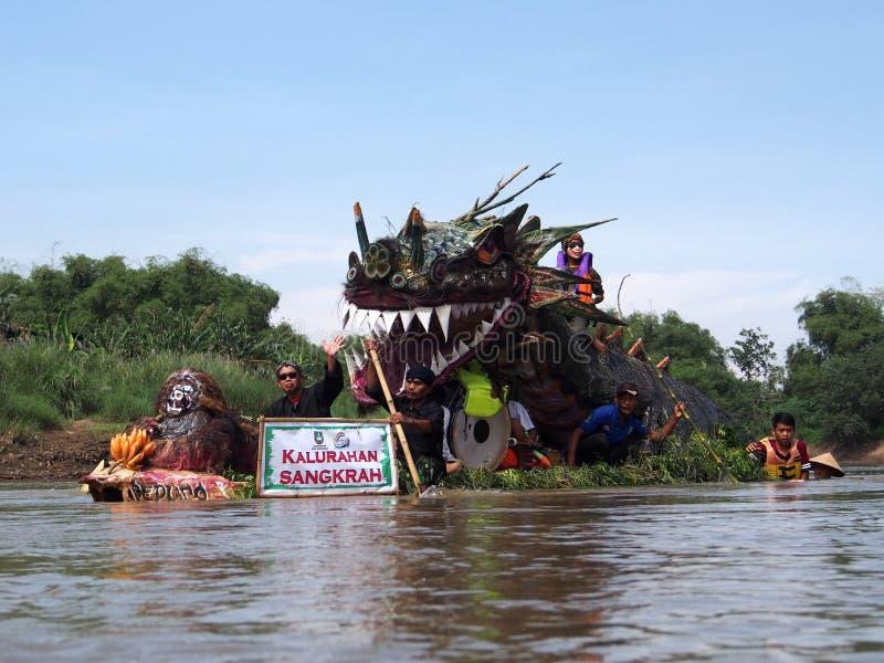Bengawan Solo Festival stock image