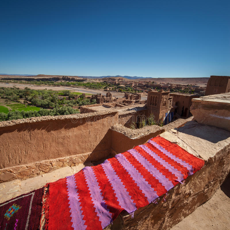 benhaddou Марокко ait стоковое фото