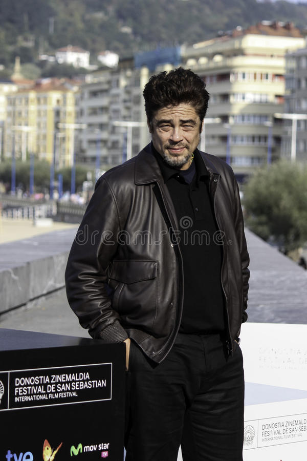 Benicio Del Toro lizenzfreie stockfotos