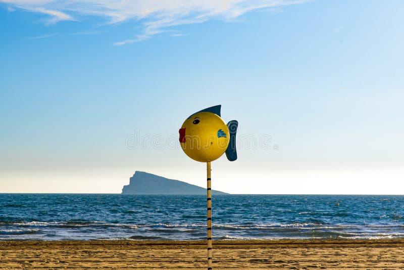 Benidorm, Alicante, España fotografía de archivo libre de regalías