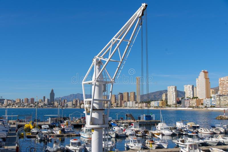 Benidorm, Alicante, Spanje royalty-vrije stock foto's