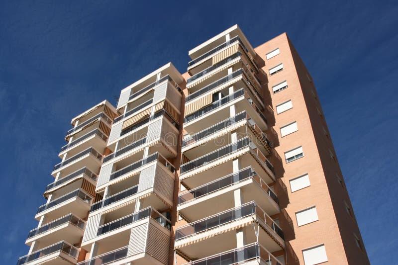 Benidorm apartment building stock photos