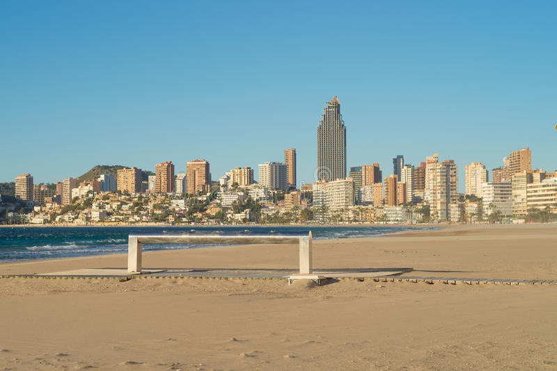 Download Benidorm Beach Resort Early Stock Images - Image: 28866824