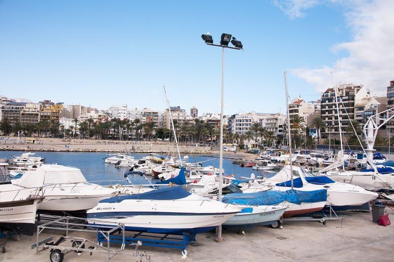 Download Benidorm Costa Blanca Hiszpania Europa Zdjęcie Editorial - Obraz złożonej z taras, falezy: 41954786