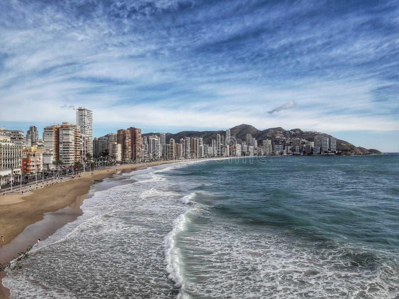 Benidorm, Espagne images stock