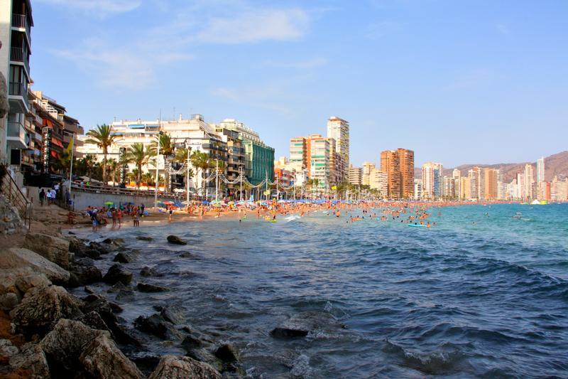 Benidorm, Hiszpania zdjęcia stock