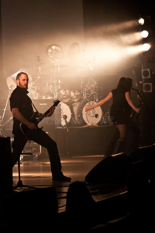 Download Benighted Soul Performing Live At Aula Magna Editorial Image - Image: 23489670
