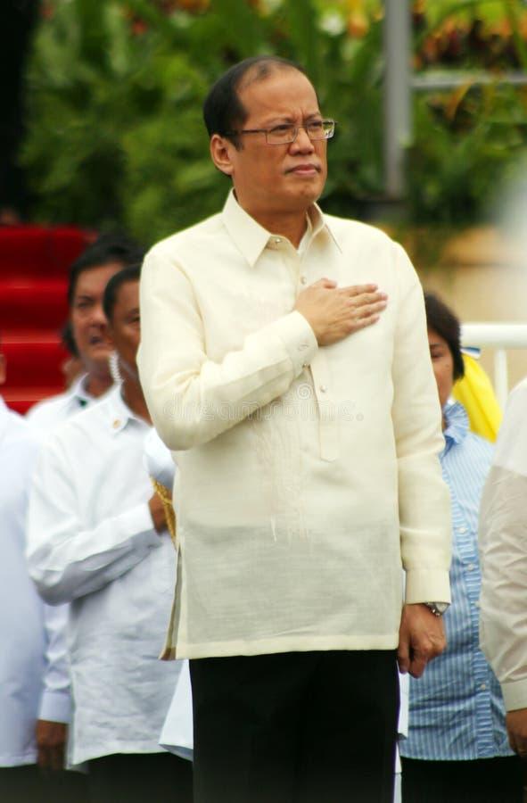 Benigno C. Aquino Jr. III stock photos