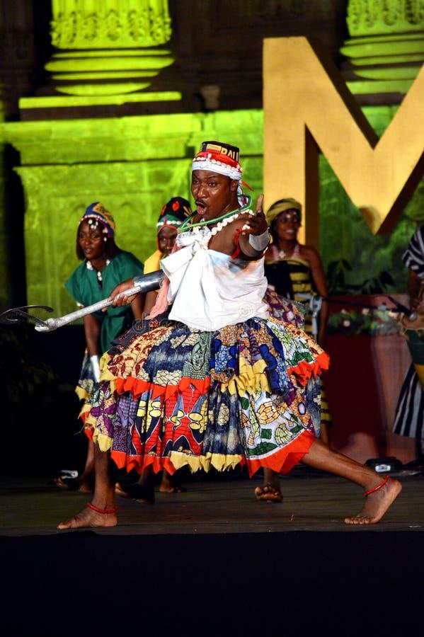 Benin Nationaal Ballet royalty-vrije stock afbeeldingen