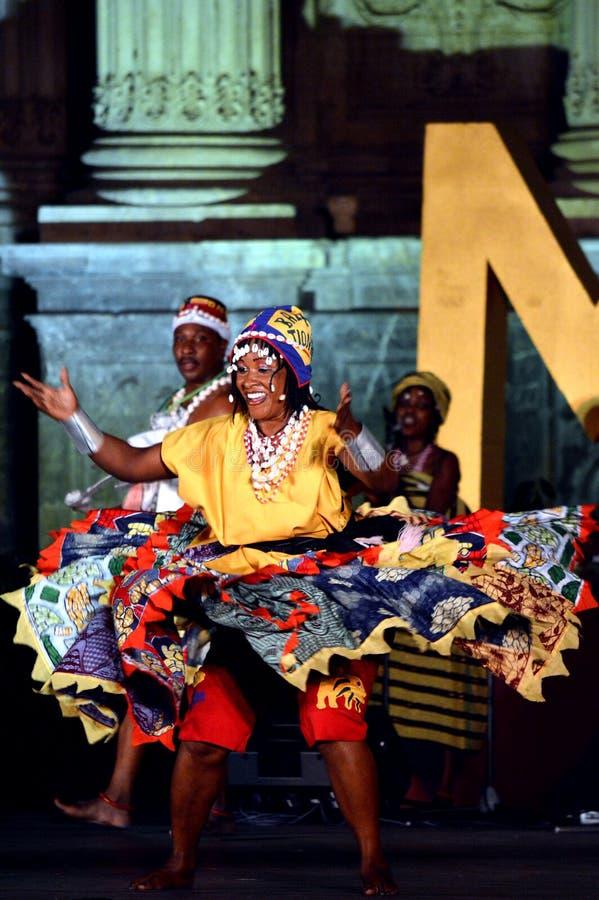 Benin Nationaal Ballet royalty-vrije stock foto's