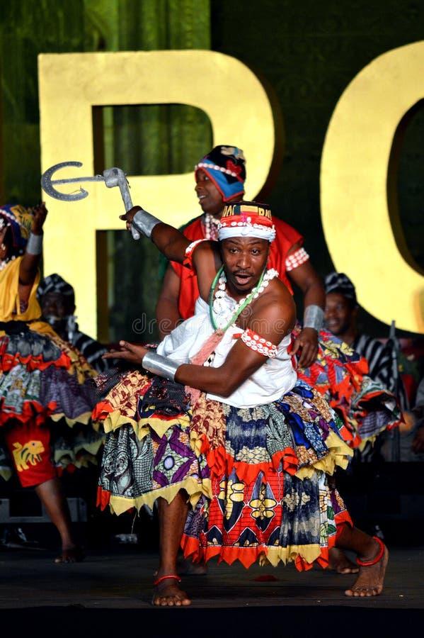 Benin Nationaal Ballet stock fotografie
