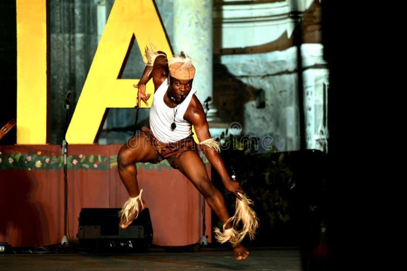 Benin Nationaal Ballet royalty-vrije stock afbeelding