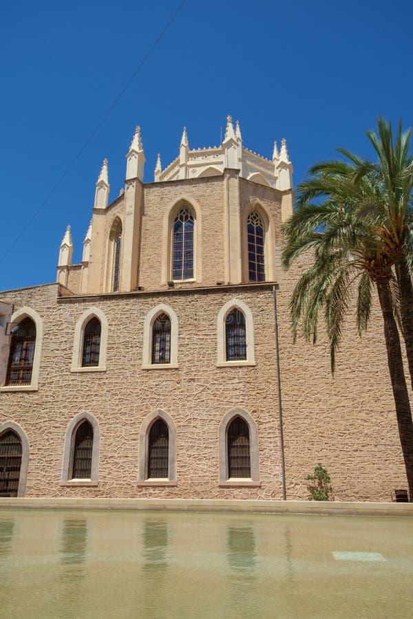 Benissa Kerk, Benissa, Costa Blanca, Spanje stock afbeelding