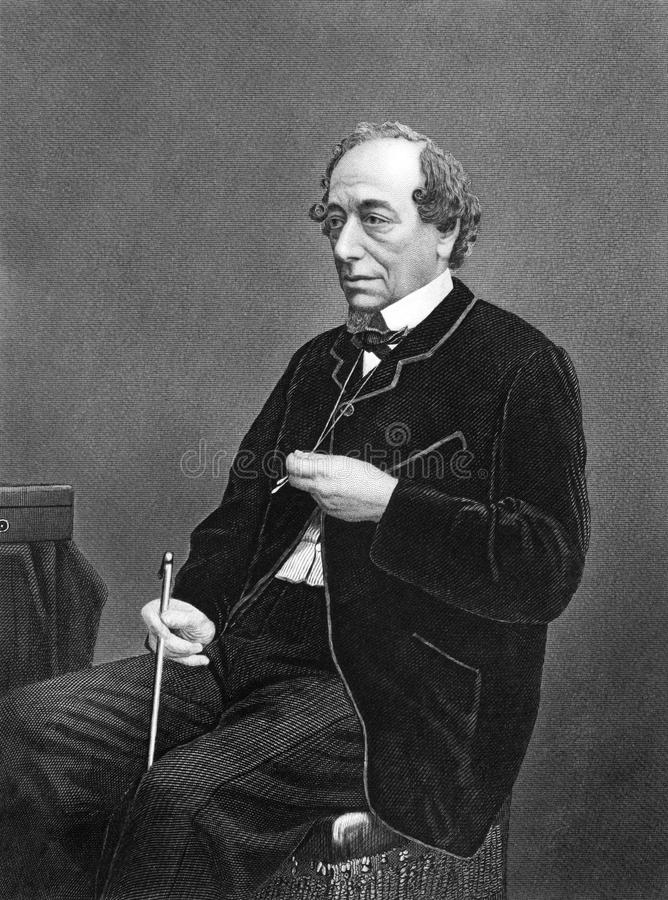 Benjamin Disraeli illustration de vecteur