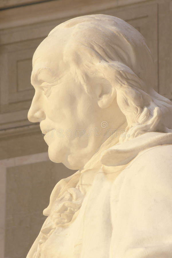 Benjamin Franklin纪念品 免版税库存图片