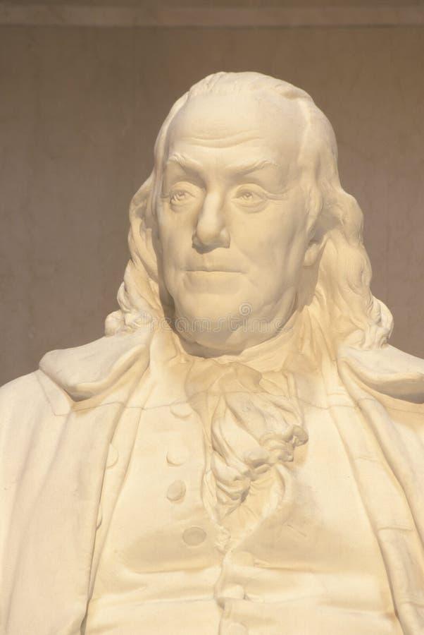 Benjamin Franklin纪念品 库存图片