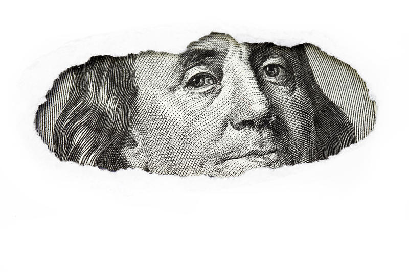 Download Benjamin Franklin stock photo. Image of famous, financial - 12088504
