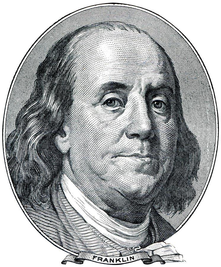 Benjamin Franklin foto de stock
