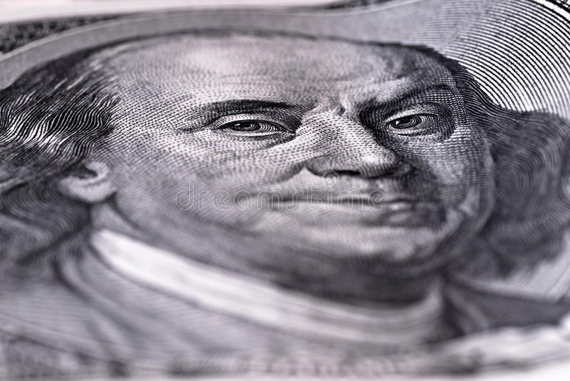 Benjamin Franklin Arkivfoton