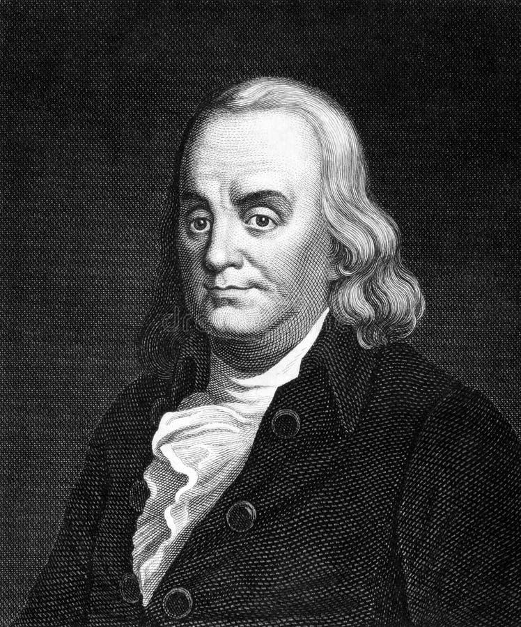 Benjamin Franklin Redactionele Fotografie