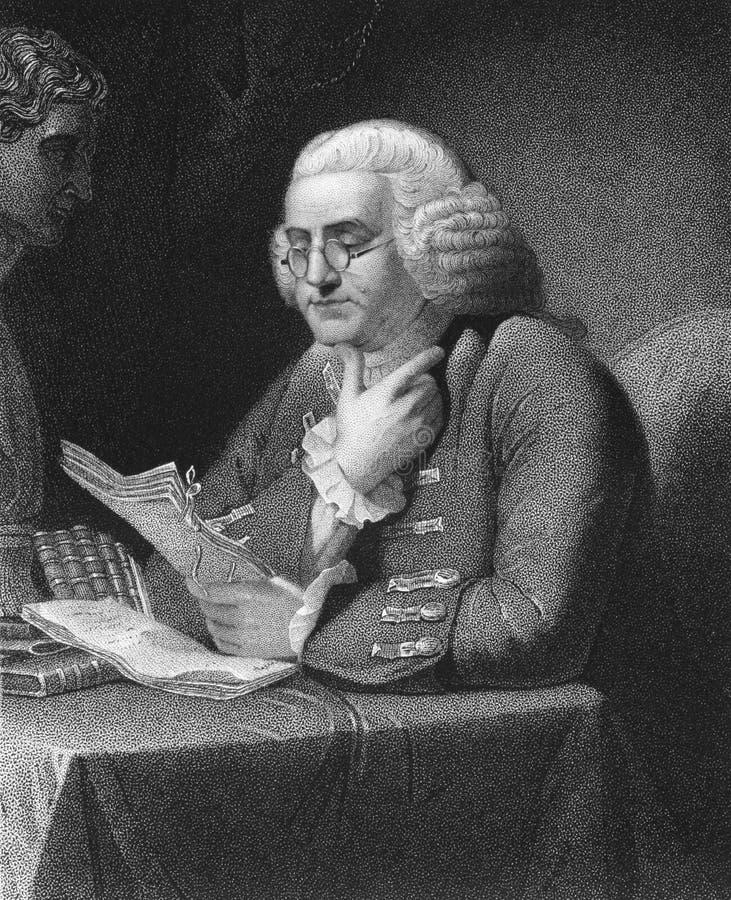 Benjamin Franklin stockbild
