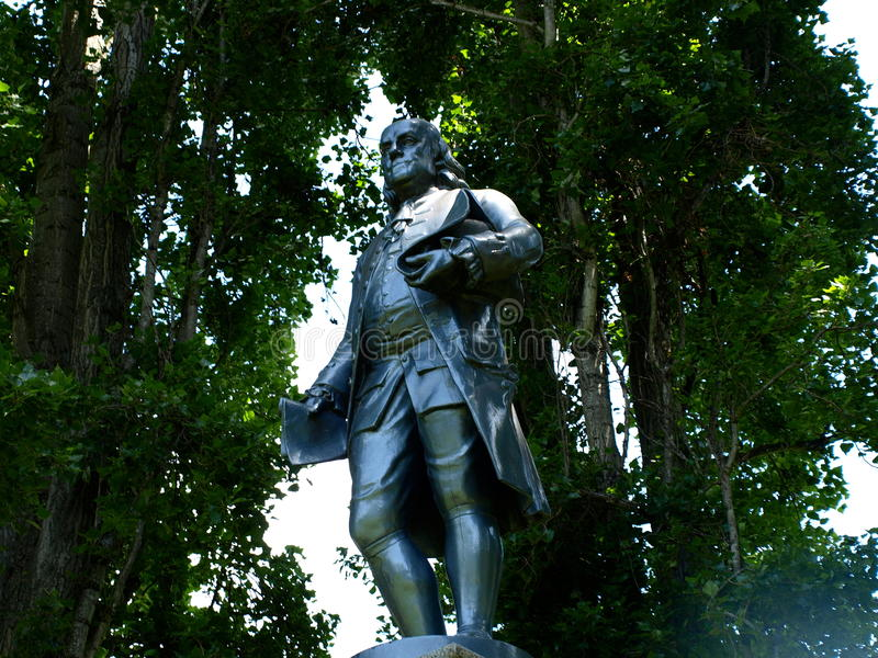 Benjamin Franklin Alternate Angle Stockfoto