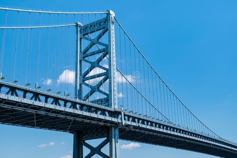 Benjamin Franklin Bridge στοκ εικόνα με δικαίωμα ελεύθερης χρήσης